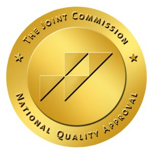 The Joint Commission National Quality Approval seal.